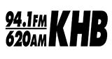94.1 FM and 620 AM KHB