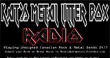 Kats Metal Litter Box Rock & Metal Radio